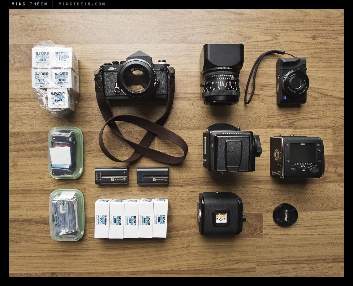 In your bag No: 400 - Ming Thein - Japan Camera Hunter